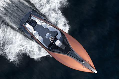 lexus boat lexus sport yacht concept hiconsumption