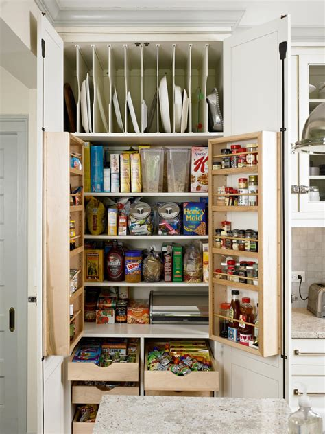 Free Standing Kitchen Pantry Furniture by Small Kitchen Storage Ideas Pictures Amp Tips From Hgtv Hgtv