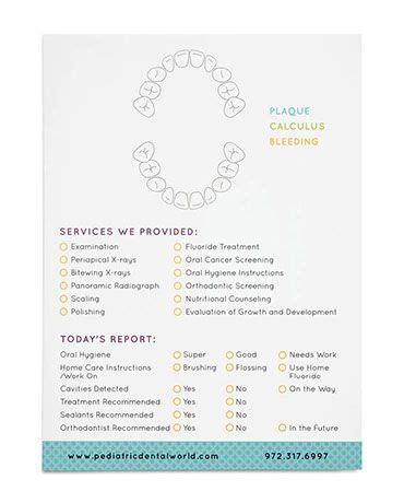 dental health report card templates best 25 dental world ideas on dental health