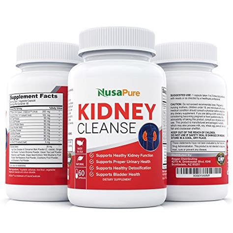Bladder Cleanse Detox by Kidney Cleanse With Organic Cranberry Extract Supports