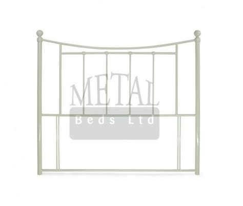 metal headboards for double beds metal beds bristol 4ft small double ivory headboard by