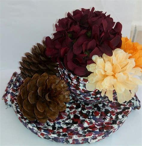 centro tavola fiori centro tavola con fiori e pigne per la casa e per te