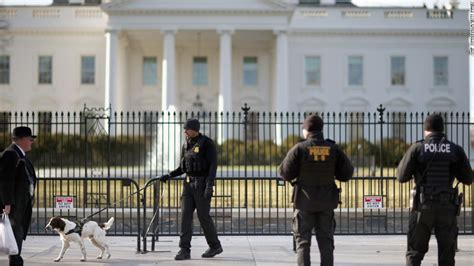 White House Security by Official White House Fence May Get Steel Spikes