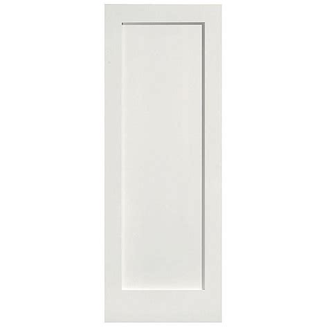solid interior doors home depot impact plus 30 in x 80 in polished edge mirror solid