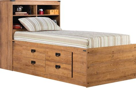 captains beds driftwood captains bed the brick