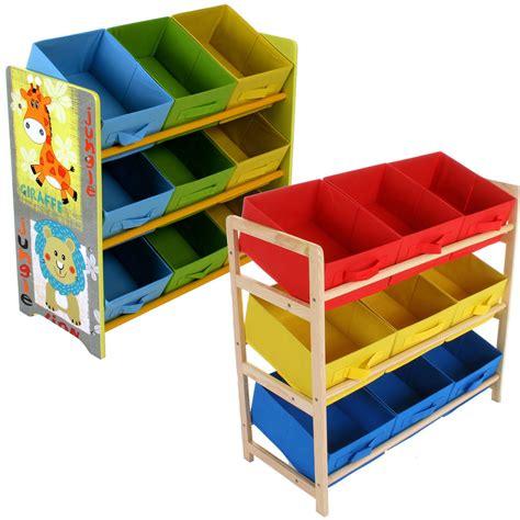 childrens shelving unit childrens storage unit shelf 3 tier 9 canvas