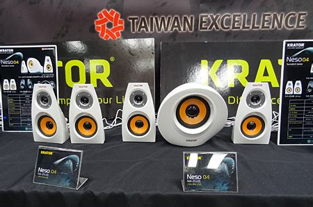 Krator N4 20u05 2 0 5w 恵安 台湾のオーディオブランド krator のスピーカー4機種を発売 ウレぴあ総研