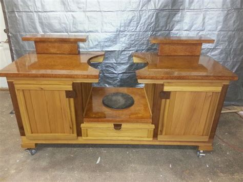 tennessee collection big green egg cabinet by www