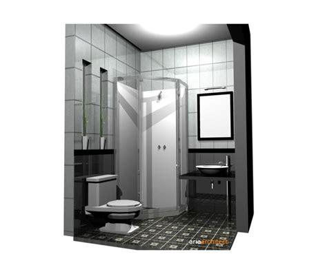 desain kamar mandi  terasa lapang  menyenangkan