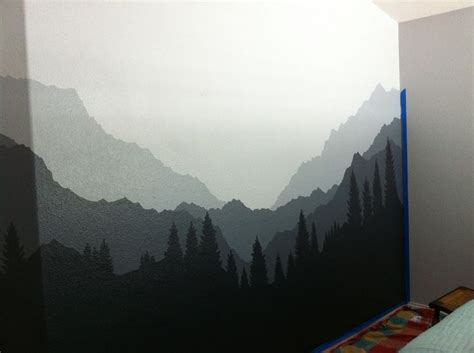mountain wall murals mural 2 moody mountains for maren wall murals