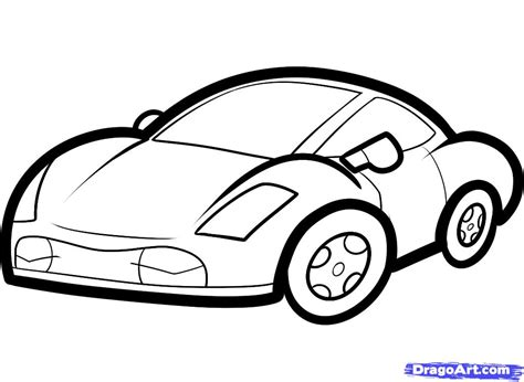 kid car drawing how to draw a for by cars for