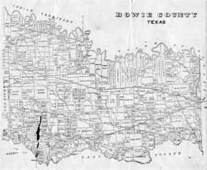 bowie county map bowie county tx usgenweb archives