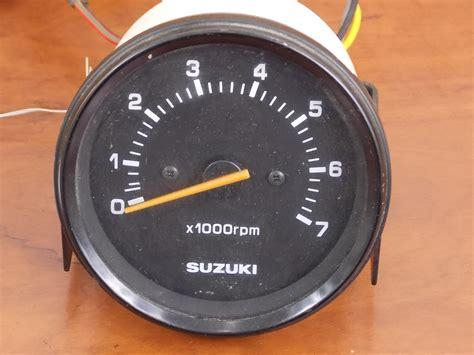 Suzuki Marine Gauges Suzuki Outboard Rpm 3 1 2 Quot Ebay