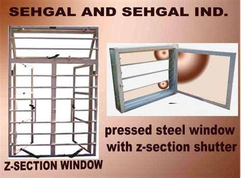 steel w section s s industries z section windows as per is 1038