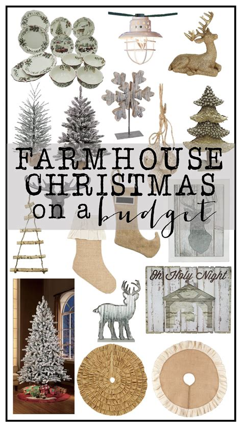 best christmas decor on a budget farmhouse decor on a budget house of hargrove