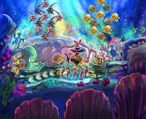 Wdw Christmas Decorations Under The Sea The Little Mermaid 100daysofdisney