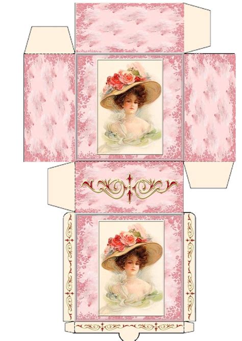 shabby chic teapot free printable boxes 1655 best miniature printables boxes bags wrapping