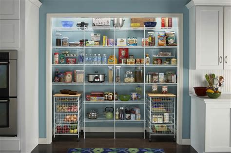Closetmaid Pantry advanced closet systems custom shelving and storage systems