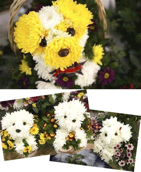 puppy flower arrangement puppy flower arrangements floral design