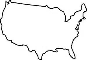 usa map outline vector white map usa clip at clker vector clip