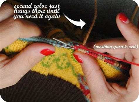 knitting stranding 78 best images about knitting how to stranding and fair