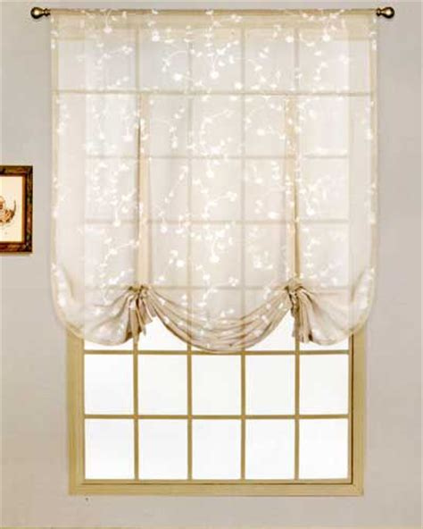 tie up curtains balloon shades tie up shades balloon curtains curtain shop