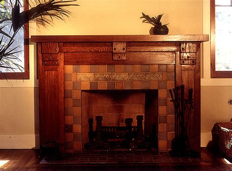 in search of a craftsman arts crafts fireplace mantel