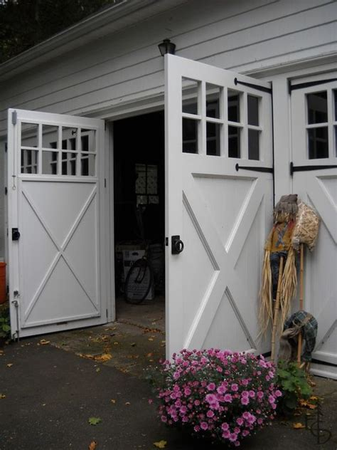 swing carriage doors invite family  friends