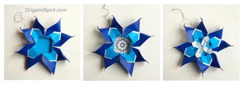Origami Browser - make a meditative quilt easy paper ornament