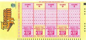 Galerry Pennsylvania Lottery Treasure Hunt PA Lottery Draw Game Lottery