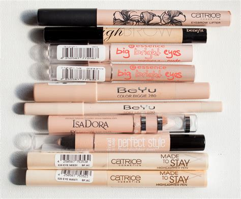 Benefit Higt Brow Hightlight eye brow highlighting pencils oder benefit highbrow die gefolgschaft magimania
