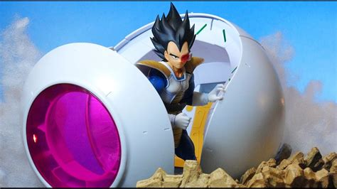Figure Rise Mechanics Saiyan Space Pod bandai z figure rise mechanics saiyan space pod review