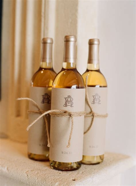 Wedding Favors Wine by 5 Wedding Favours Your Guests Will Want To Hold On To No