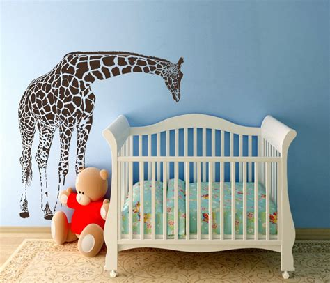 Giraffe Baby Decorations Nursery Giraffe Nursery Decor Thenurseries
