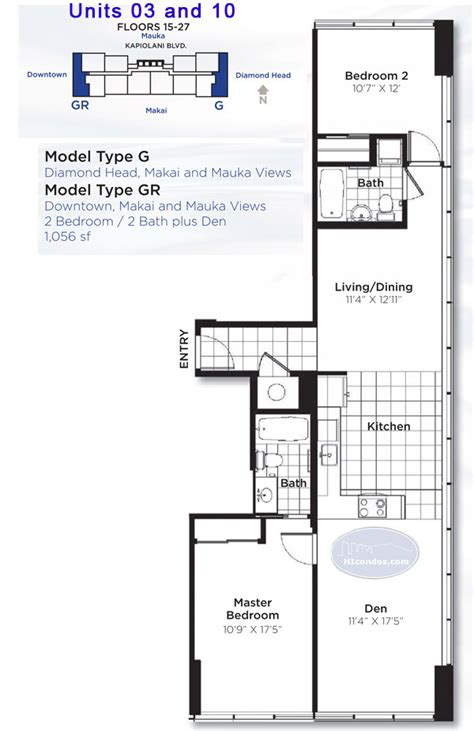 hawaii floor plans pacifica floor plans honolulu hawaii