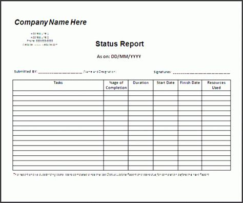 6 editable weekly marketing report template