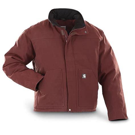 Jaket Reg carhartt 174 insulated jacket regular 186586 insulated jackets coats at sportsman s guide