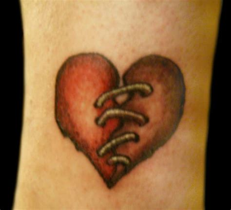 broken heart tattoo broken on broken pictures