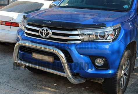 Kit Fortuner 2016 Mdl Lx Steel toyota fortuner nudge bar 3 quot stainless steel grille guard