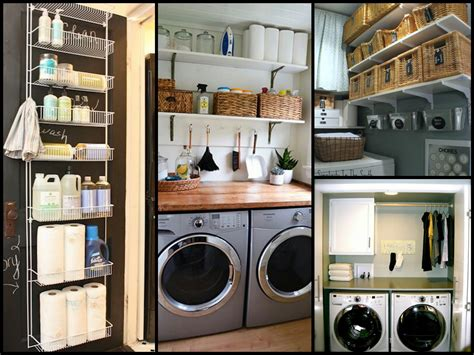 diy home organization small laundry room organization tips diy home