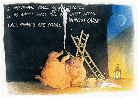 animal farm the illustrated 024119668x orwell s animal farm as illustrated by ralph steadman neatorama