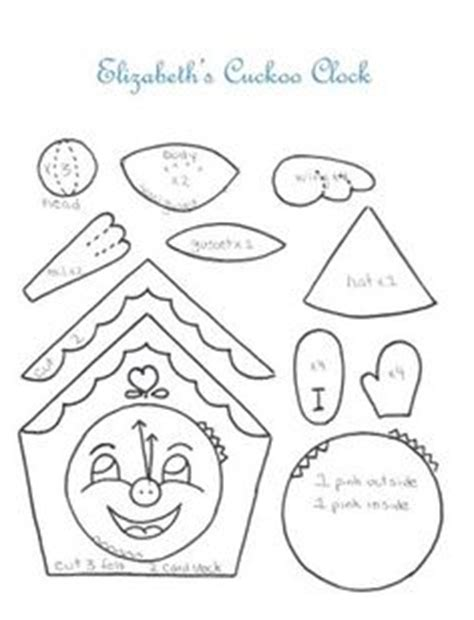 printable cuckoo clock template 1000 images about germany ideas international day on