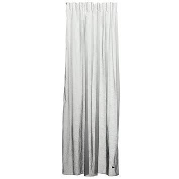 kant en klare gordijnen wit vtwonen kant en klaar gordijn thunder zwart 1121 140 x