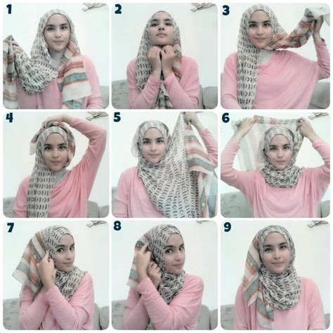 tutorial hijab arabian style hijab tutorial probably my everyday signature style