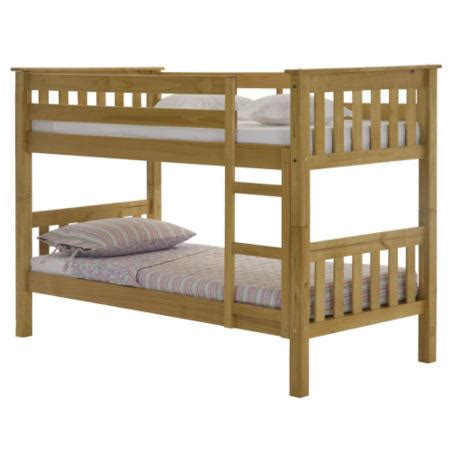 Julian Bowen Barcelona Bunk Bed Julian Bowen Barcelona Solid Pine Bunk Bed Furniture123