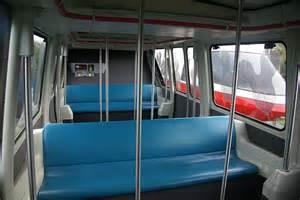 Walt disney world monorail system monorail coral passenger cabin