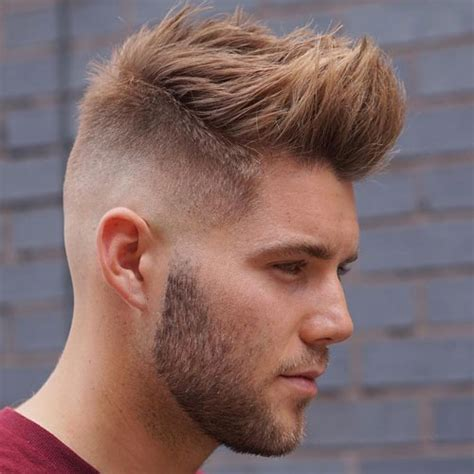 mens fade haircut styles  guide