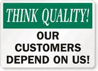 Quality slogans for the workplace gi 96465 customers depend on
