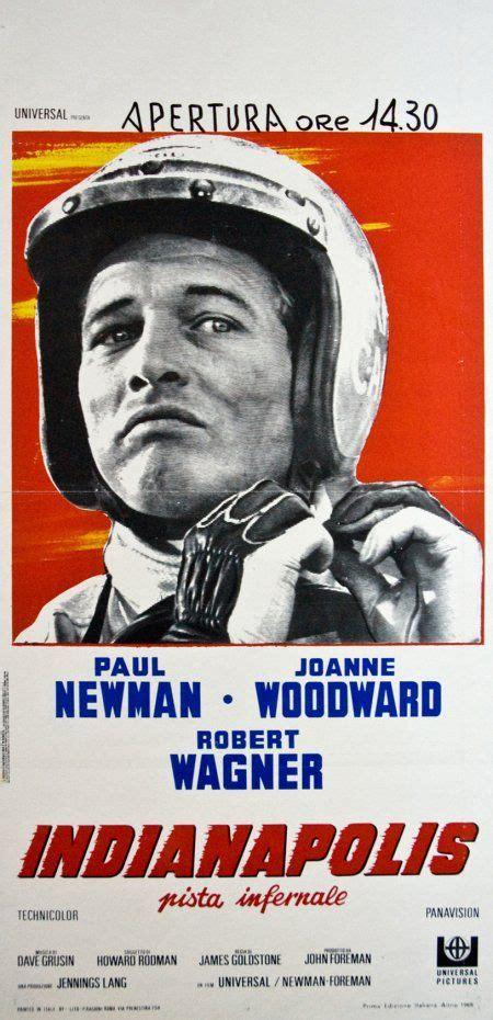 italian  poster  winning starring paul newman