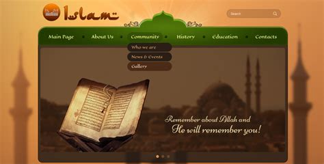 themes quran themes mosque bootstrap wordpress theme gridgum
